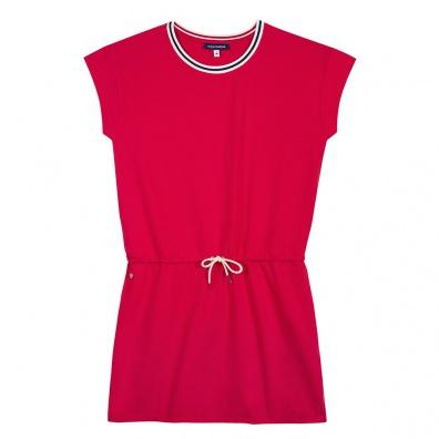 La Alice - Robe rouge et marine