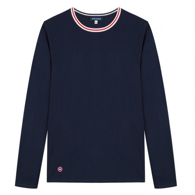 Le Paul - T-shirt manches longues marine
