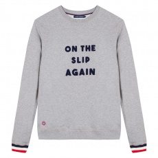 Le Robin On The Slip Again - Sweat-shirt gris