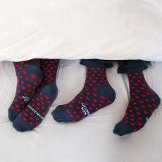 Les Lucas Duo Bonjour Mon Amour - Pack de deux paires de chaussettes