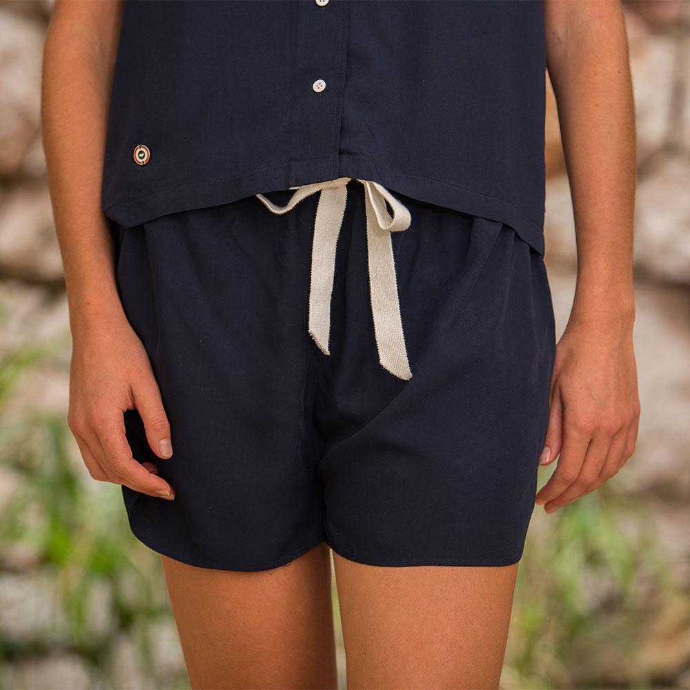 La edith MARINE - Bas pyjama MARINE