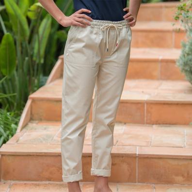 Le simone SABLE - Pantalon SABLE
