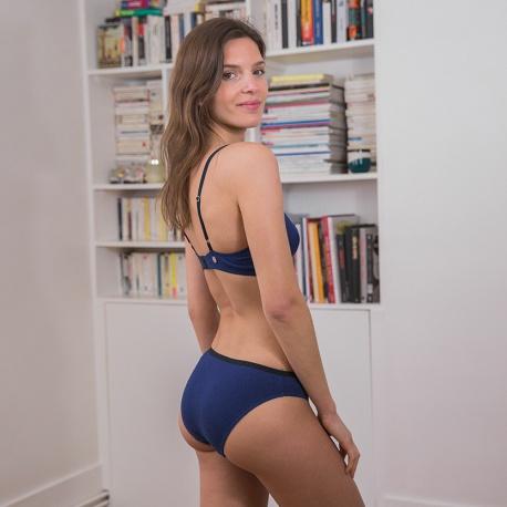 La Lucette - Culotte classique indigo