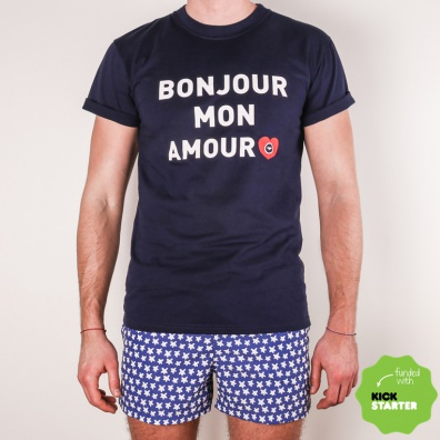T Shirt Bonjour Mon Amour - Very Love Trip