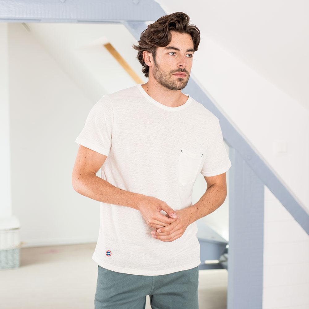 Le Vincent Ecru - Tshirt