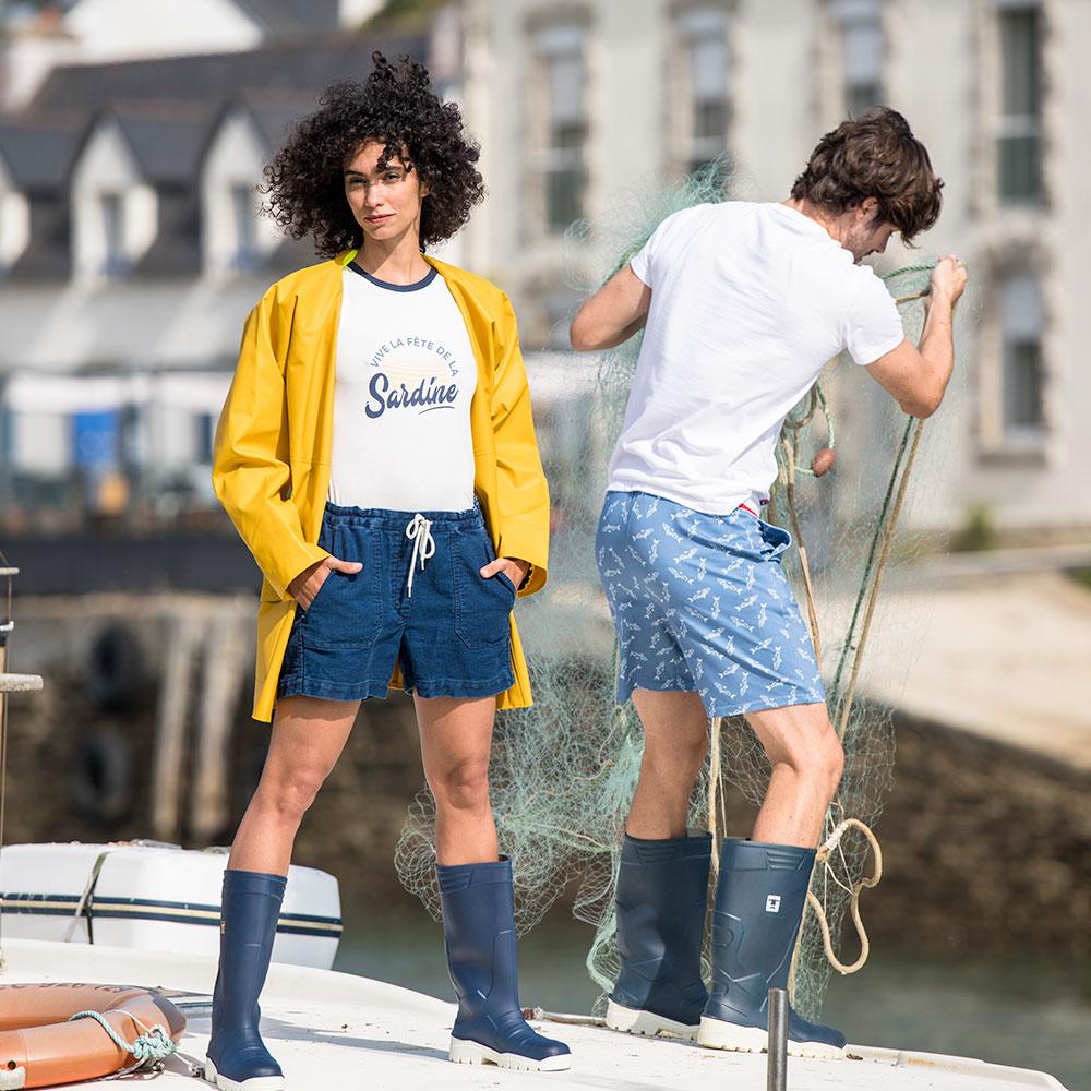 Le Zouzou Sardines - Bas pyjama Sardines