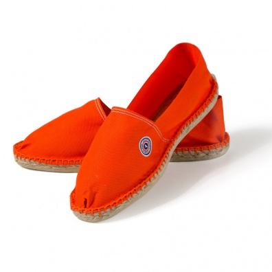 Les Basques orange - Espadrilles orange