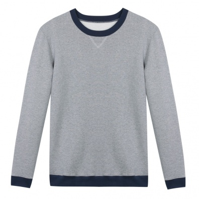 Le Coude à Coude Gris - SweatShirt bicolore