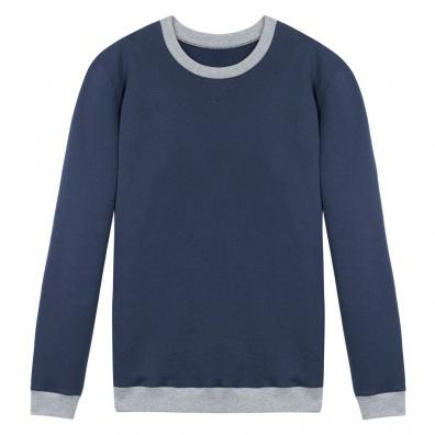 Le Coude à Coude Bleu - Sweat bicolore
