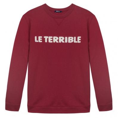 Le Terrible - Sweat Bordeaux