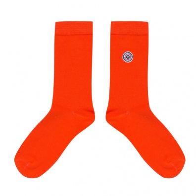 Les Lucas - Chaussettes unies orange