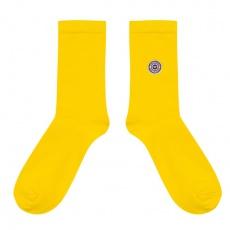 Les Lucas - Chaussettes unies jaunes
