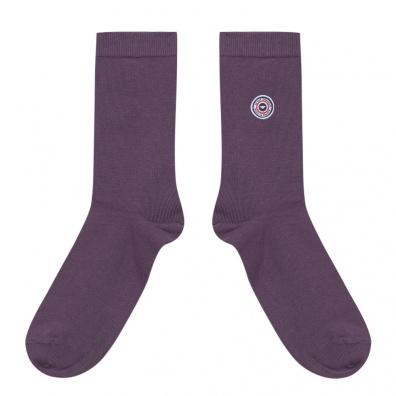 Les Lucas - Chaussettes unies violettes