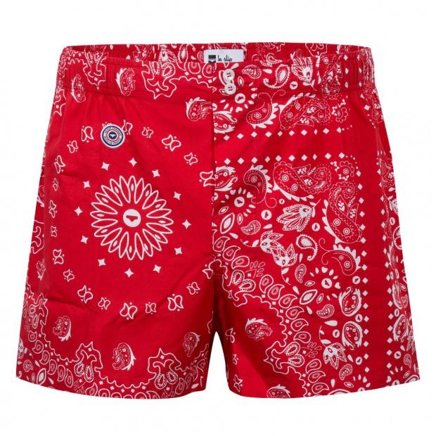 Le Bandana Rouge - Caleçon motif Bandana
