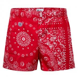 cale on rouge motif pour homme le bandana rouge le slip fran ais le slip fran ais. Black Bedroom Furniture Sets. Home Design Ideas