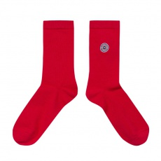 Les Lucas - Chaussettes unies rouges
