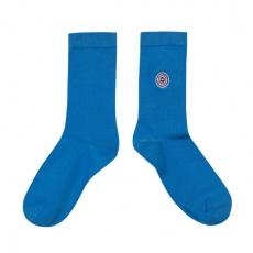Les Lucas - Chaussettes unies bleu électrique