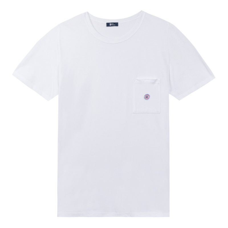 nouveau t shirt blanc le matthew le slip fran ais le slip fran ais. Black Bedroom Furniture Sets. Home Design Ideas