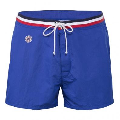 Le Capitaine électrique - Short de bain bleu roi