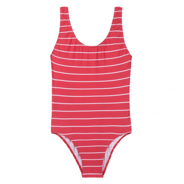 maillot de bain une pi ce rouge rayures le slip fran ais. Black Bedroom Furniture Sets. Home Design Ideas