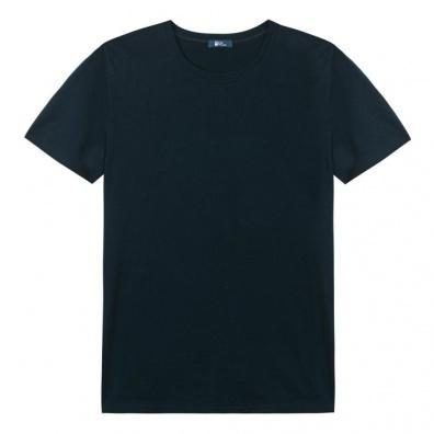Le Bradley - T shirt Noir Col rond