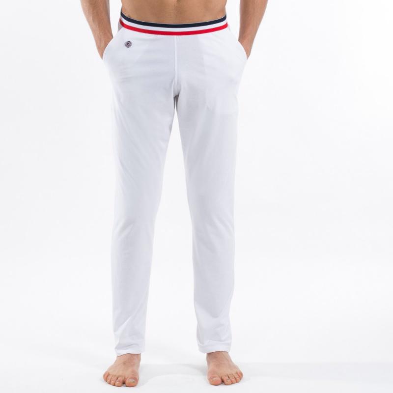 pyjama homme blanc toudou pyjama blanc made in france. Black Bedroom Furniture Sets. Home Design Ideas