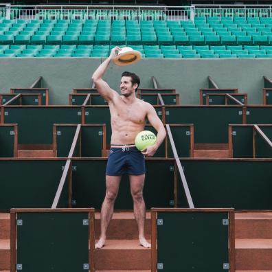 Le Short de Bain - LSF x Roland Garros