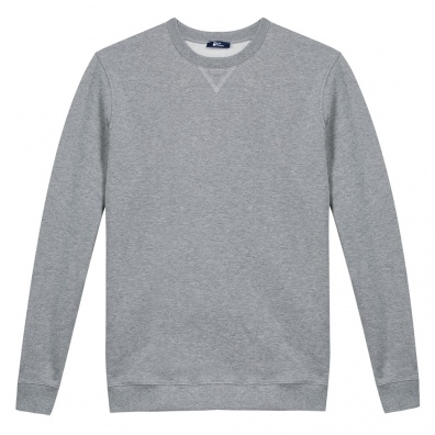 Sweat shirt gris - Sweat gris chiné