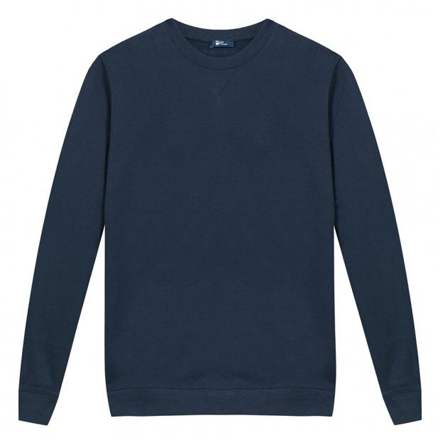 Sweat-Shirt Bleu Marine femme