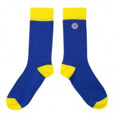 Les Lucas jaunes et bleues - Chaussettes jaunes et bleues