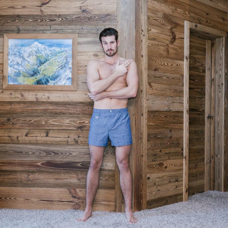cale on bleu chin pour homme le slip fran ais. Black Bedroom Furniture Sets. Home Design Ideas
