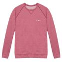 Le Hubert Flocon - Sweat-shirt rouge chiné