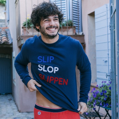 Slip Slop Slippen - Sweat shirt