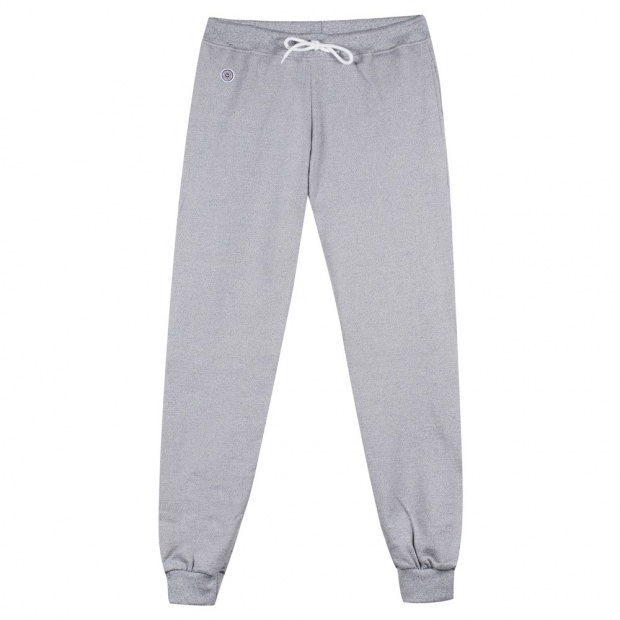 Jogging Homme Gris Chiné - Jogging Gris Chiné Made in France
