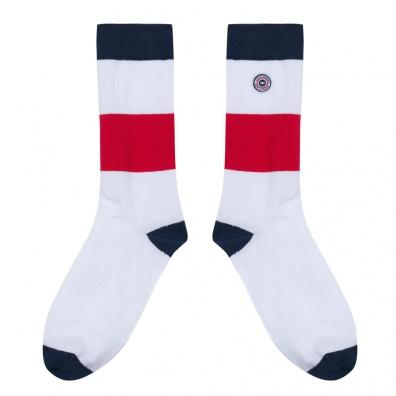 Les Lucas Meribel - Chaussettes bleu blanc rouge