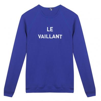 Le Vaillant - Sweat Bleu Roi