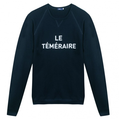 Le Téméraire - Sweat shirt marine