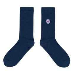 Les Lucas - Chaussettes unies bleues