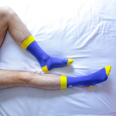 L'Estivale - Chaussettes bicolores