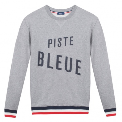 Le Piste Bleue - Sweat shirt gris