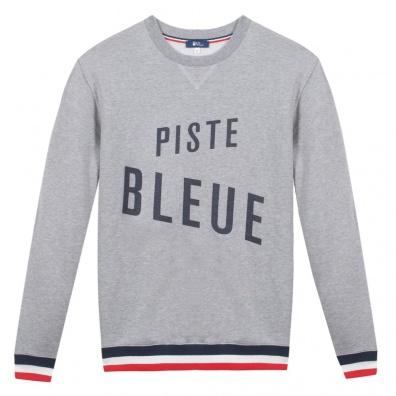 Le Piste Bleue - Sweat shirt gris