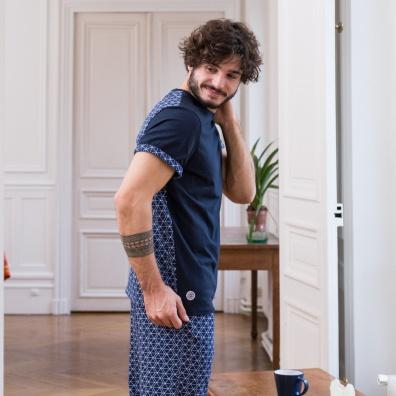 L'Assoupi - Pyjama Losange
