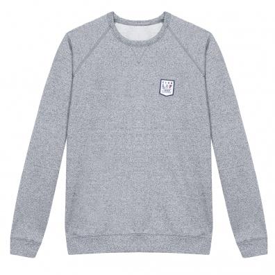 L'ourson - Sweat gris chiné