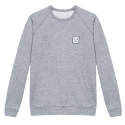 Le Hubert Ourson - Sweat-shirt gris chiné