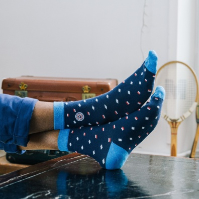 Les Fanions - Chaussettes imprimées