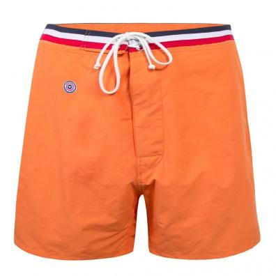 Le Céleste long - Short de bain long orange