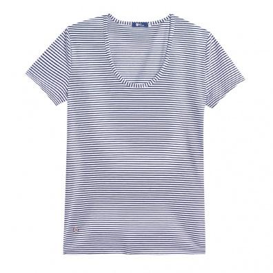La Brigitte - T-shirt marinière à col rond
