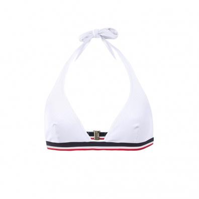 La Marée - Haut de maillot triangles blanc