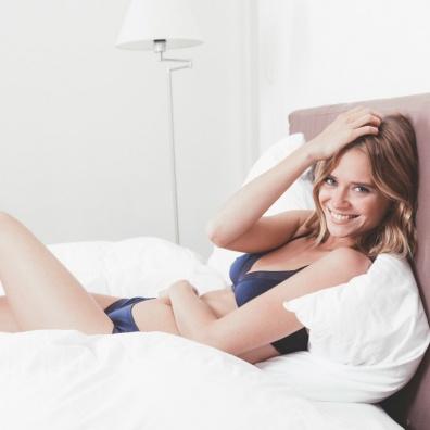 Le Armelle - Shorty fantaisie bleu