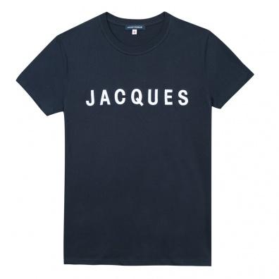 Le Jean F Jacques - T-shirt bleu marine